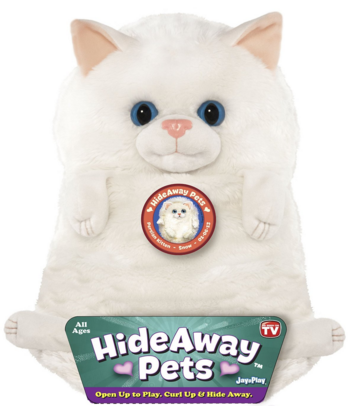 "Jay At Play 15"" Hideaway Pets (Persian Kitten) Just $7.63 Down From $20!"