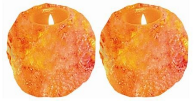 Natural Air Purifying Himalayan Natural Crystal Salt Tealight Candle Holder Just $5.11 Down From $16!