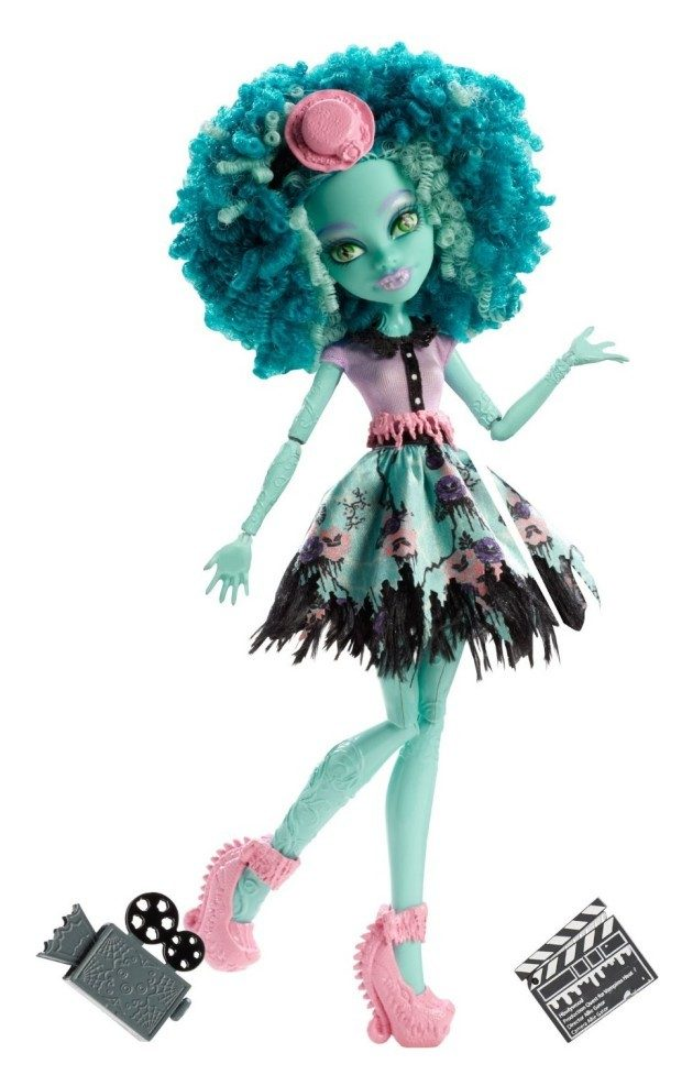 Monster High Frights, Camera, Action! Honey Swamp Doll Only $12.23!