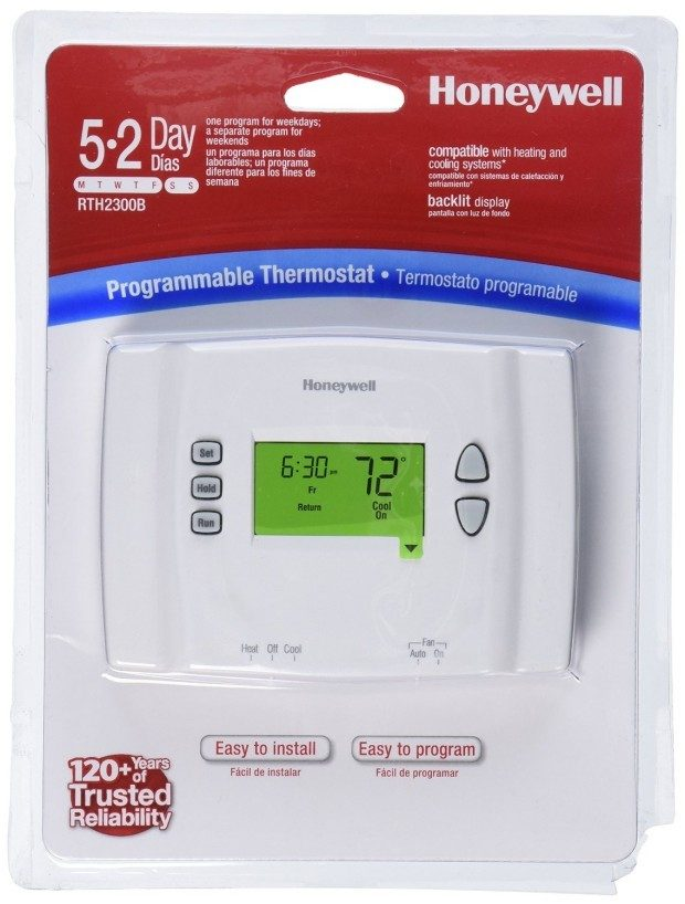 Honeywell Programmable Thermostat Only $19.99!