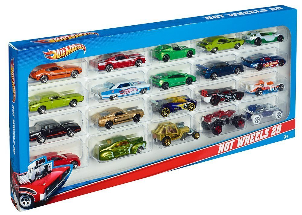 Hot Wheels 20 Car Gift Pack Only $16.60! (reg. $29.99)
