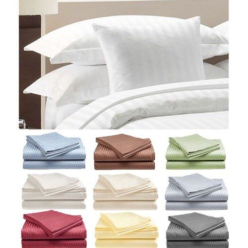 Hotel Life Deluxe 100% Cotton Sateen Sheet Set Only $12.99 Shipped!