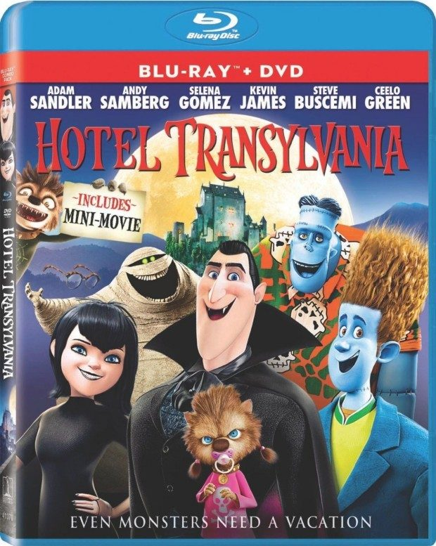 Hotel Transylvania (Blu-ray / DVD + UltraViolet Digital Copy) Only $12.96!