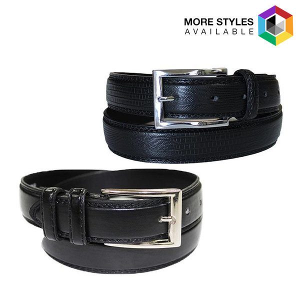 Men's Fine Genuine Leather Belts Just $12.99! Down From $50! Ships FREE!
