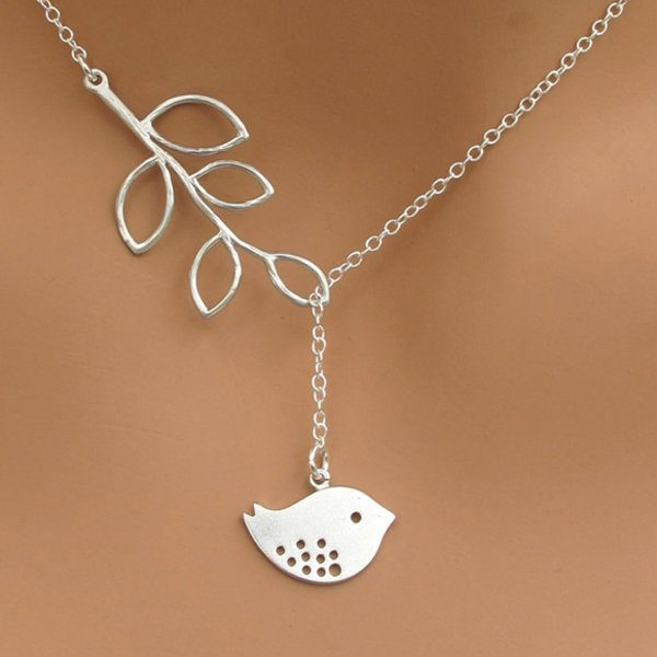 Women's Tree And Bird Necklace Just $9.99! Down From $99.99! Ships FREE!