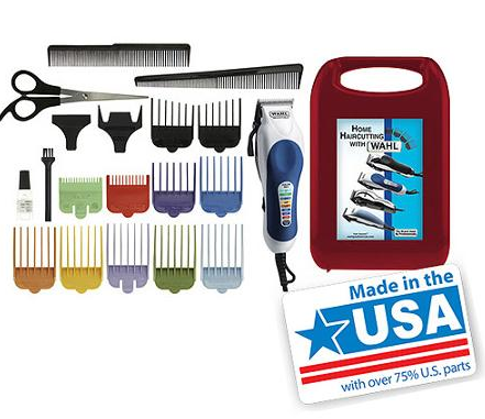 WAHL Corded Color Pro 20-Piece Color Coded Haircut Kit Just $16.99 (Reg. $30)!