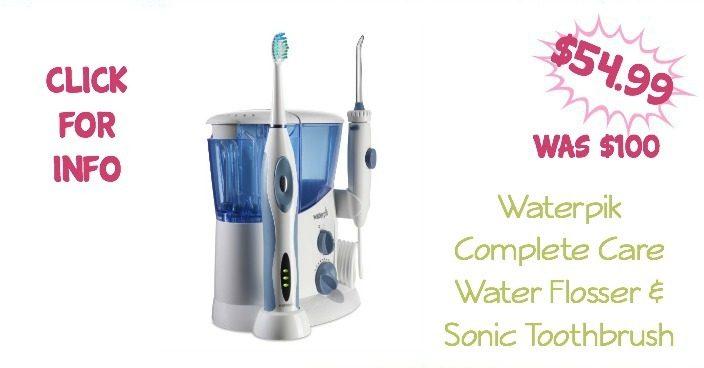 Waterpik Complete Care Water Flosser & Sonic Toothbrush $54.99 (Reg $100)!