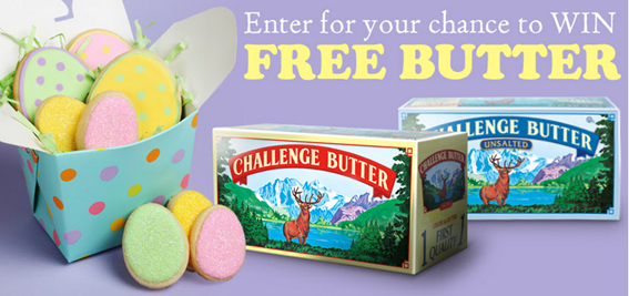 FREE Challenge Butter!