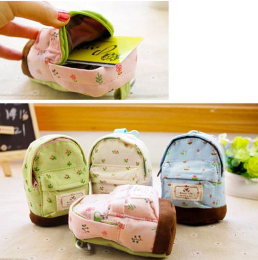 Flower Backpack Coin Purse Just $1.38 PLUS FREE Shipping!