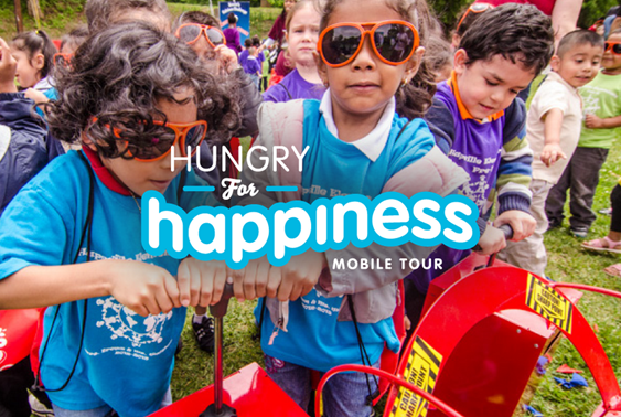 Hungry For Happiness Mobile Tour And $30 Arby's Giveaway!