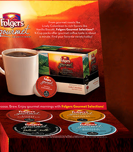 FREE Folgers Gourmet Selections® K-Cup® Packs!