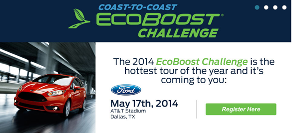 Ford EcoBoost Challenge!