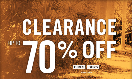 Aeropostale 70% Off Clearance!
