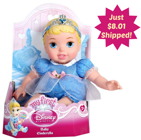 My First Disney Princess Cinderella Baby Doll Just $8.01 PLUS FREE Shipping!