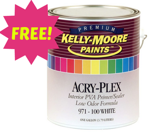 FREE Quart Of Kelly Moore Paint!