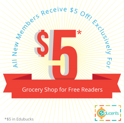 FREE $5 Off At Educents!