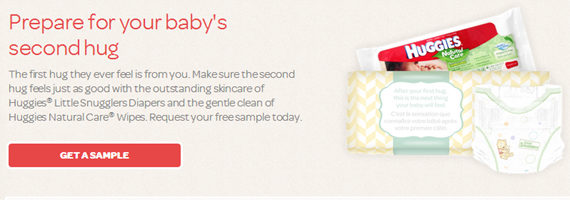 FREE Huggies Diapers And Wipes Sample!