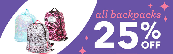 Claire's 25% Off Back To School And MORE!