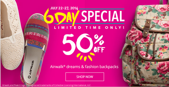 Payless Back To School Sale Up to 60% Off!