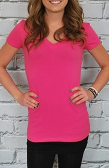 Extra Long V-Neck Tees Just $5.99!