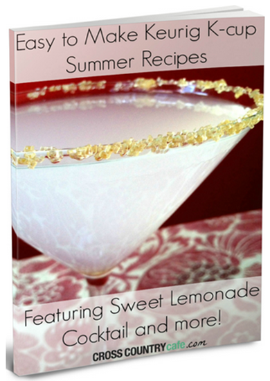 FREE Easy To Make Keurig K-Cup Summer Recipes eBook!