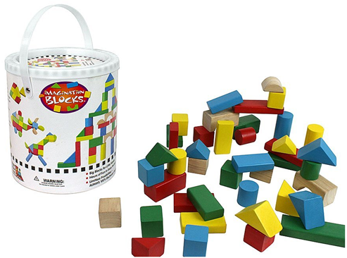 Kid's 42 pc Real Wood Blocks Set Just $9.95 PLUS FREE Shipping!