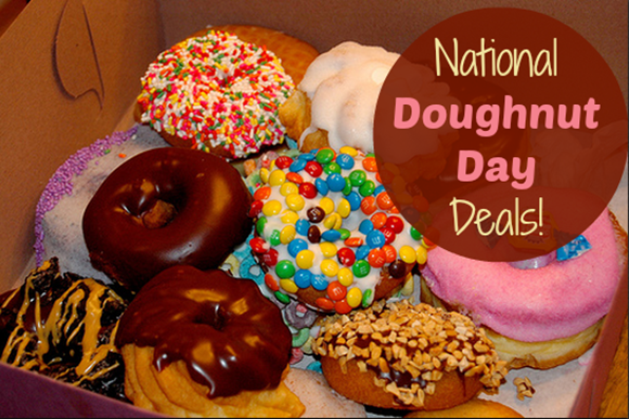 National Doughnut Day FREEbies!