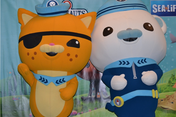 Dallas Readers:  Win Tickets To Sealife Grapevine To Meet The Octonauts!