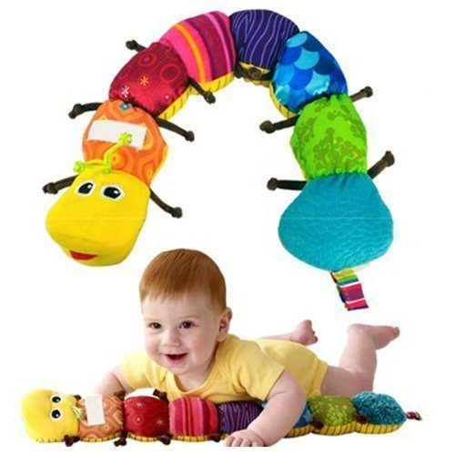 Colorful Musical Inchworm Developmental Baby Toy Just $3.43!  PLUS FREE Shipping!