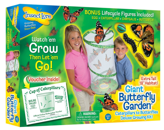Insect Lore Giant Butterfly Garden Just $17.75 Down From $30!