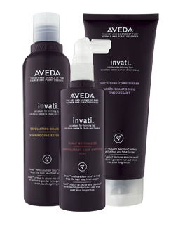 FREE Aveda Invati 3 Step Sample Pack!