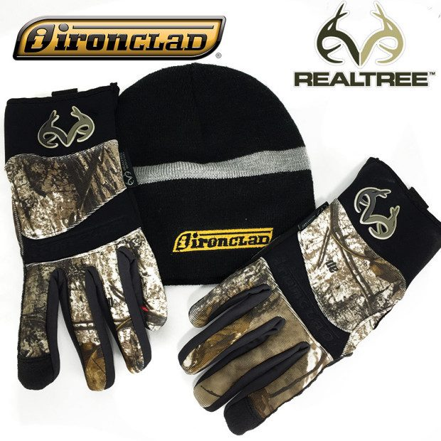 Cold Condition AP Outfitter Reinforced Grip Gloves w/ FREE Beanie Only $11.99!