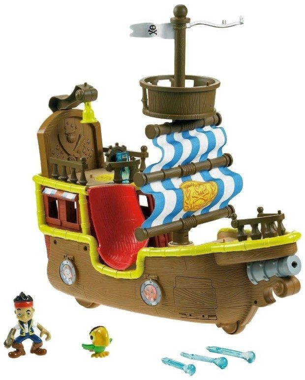 Fisher-Price Disney's Jake's Musical Pirate Ship Bucky Only $19.99!