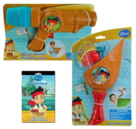 Jake & The Neverland Pirates Summer Water Toys Kids Gift Set Just $20 Down From $50!