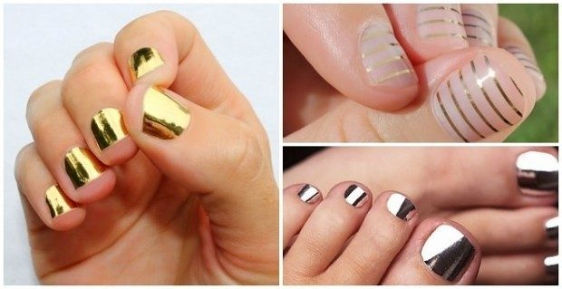 Metallic Nail Wraps Only $7.98 Shipped!