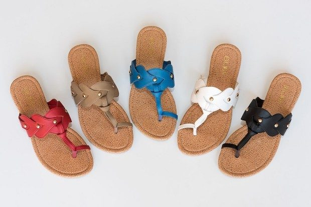 Milena Crown Flat Sandals Only $13.98 Shipped!