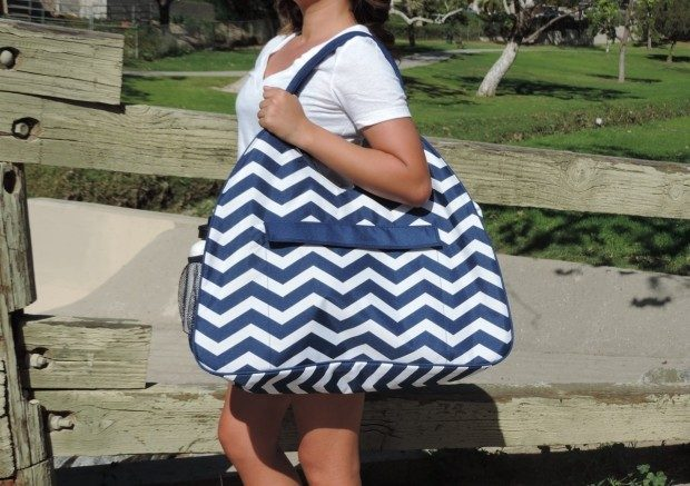 Huge Monogrammed Beach Bags Only $19.49!