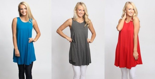 Summer Tank Tunics Only $14.99 At Jane!