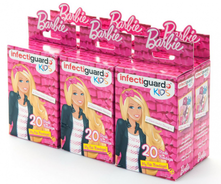 Barbie Bandages 120 Ct. Just $5.99! Ships FREE!