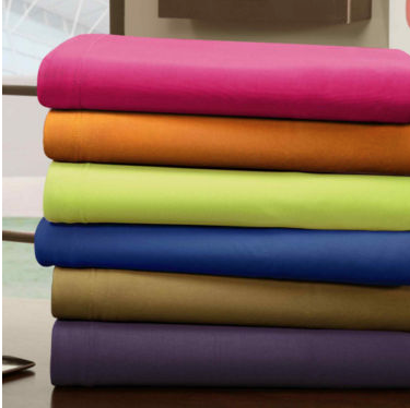Micro-Jersey Knit Sheet Set, TwinXL Only $23.99!