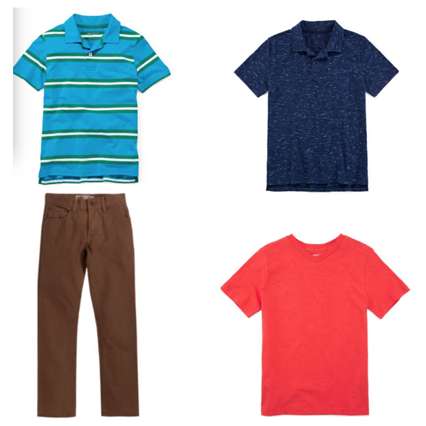 Ends 9/1- JCPenney $10 Off $25 - 3 Shirts & 1 Pants Only $16.46!