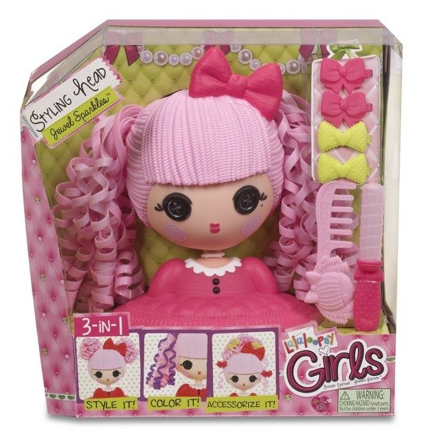 Lalaloopsy Girls Doll Styling Head Jewel Sparkles Just $6.85!