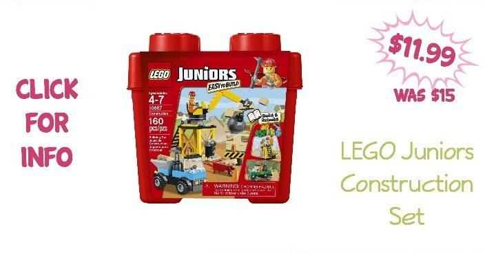 LEGO Juniors Construction Set Only $11.99! (Reg. $15)