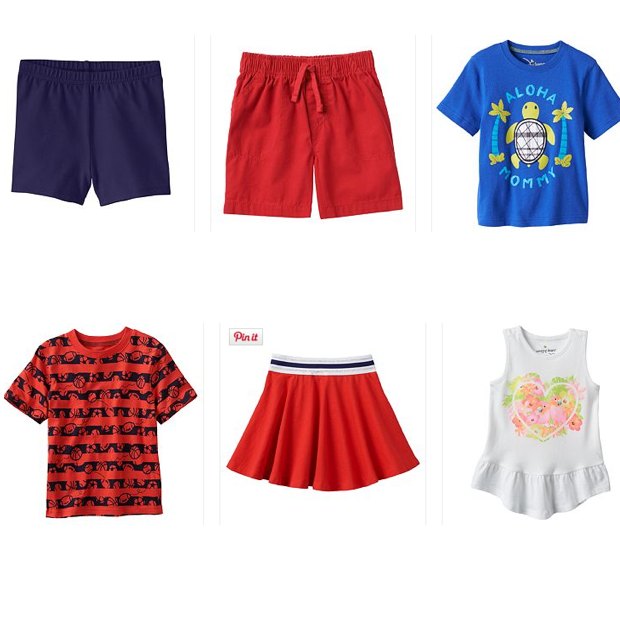 Kid's Jumping Beans Shorts & Tees Just $1.80!