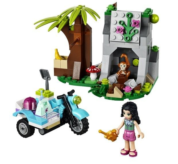 LEGO Friends First Aid Jungle Bike Building Set Only $11.05!  (Reg. $15)