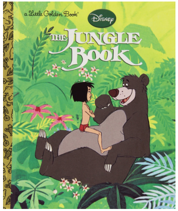 The Jungle Book (Little Golden Book) Hardcover Just $2.25 Down From $4!