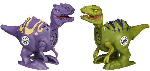 Jurassic World Brawlasaurs Velociraptor Vs. Allosaurus Figure Pack Just $9.96!
