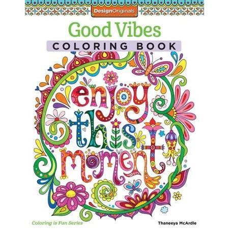 Good Vibes Coloring Book Just $5.99 At Walmart!