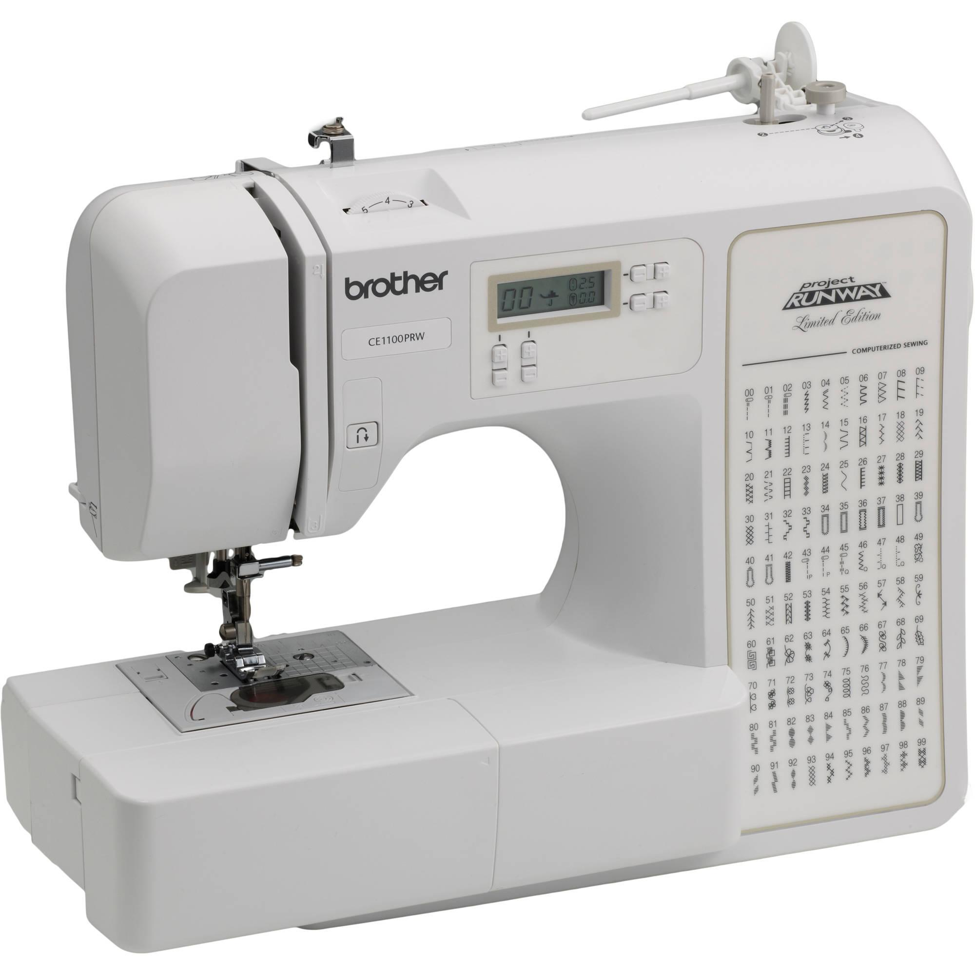 Brother Computerized 100-Stitch Project Runway Sewing Machine Just $129.97! Down From $399.99!