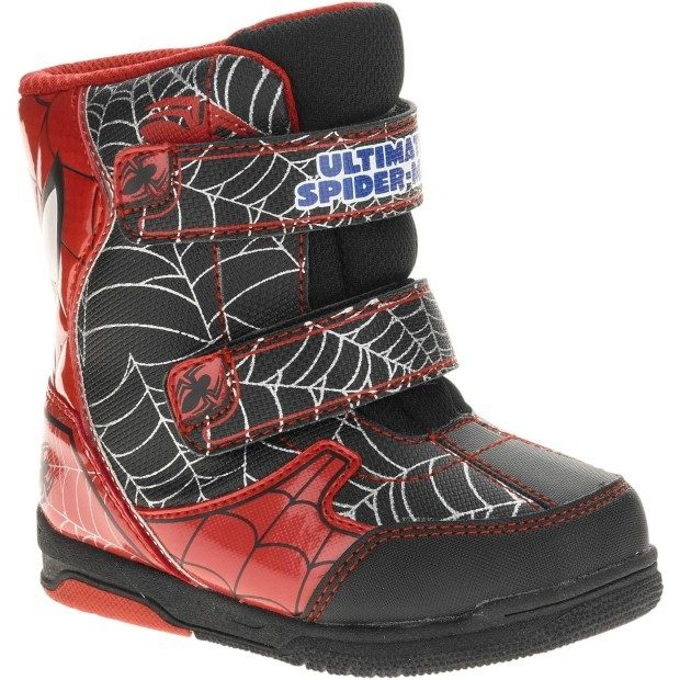 Spiderman Toddler Boy's Winter Boot Just $11.50 Down From $24.97 At Walmart!